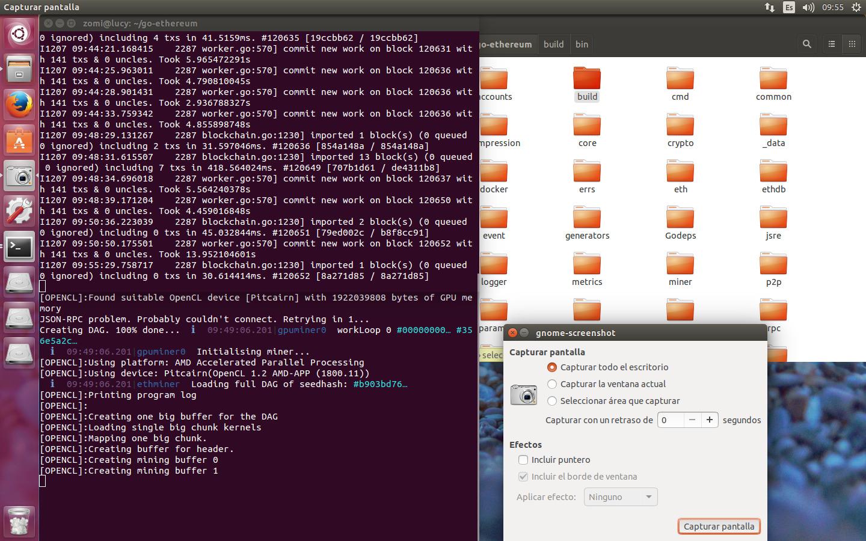 mining ethereum ubuntu